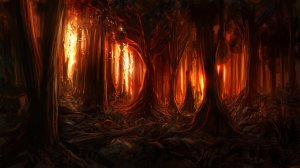burning_woods_by_alexlinde-d4ug2ph