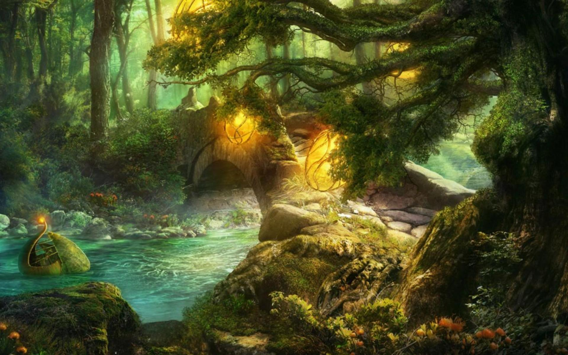 Fantasy images project nevermor - Magic land wallpaper ...